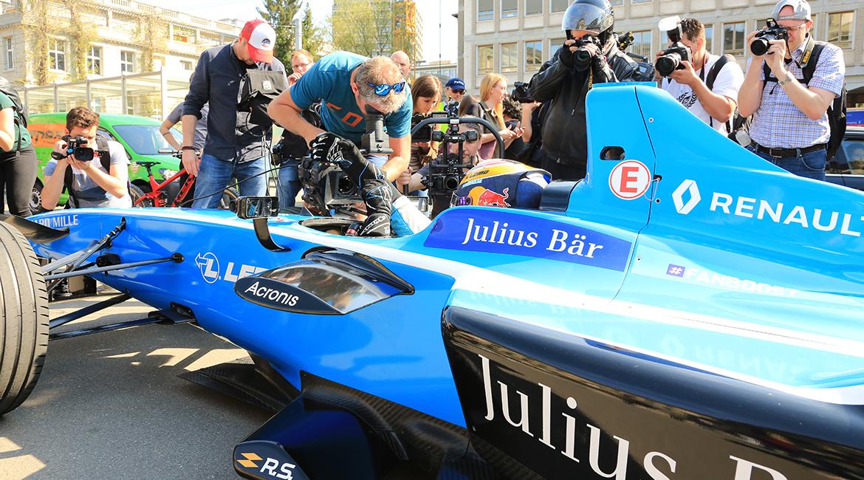 Formel E_Zürich E-Prix 2018_Roadshow_Buemi