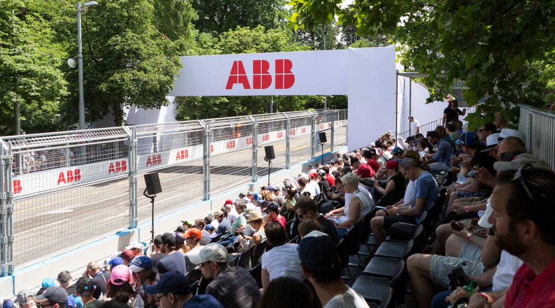 Zürich E-Prix 2018_Zuschauer auf Tribüne_ABB_Foto: Dsteinmann