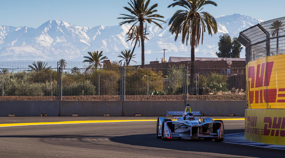 Formel E Marrakesh Friday