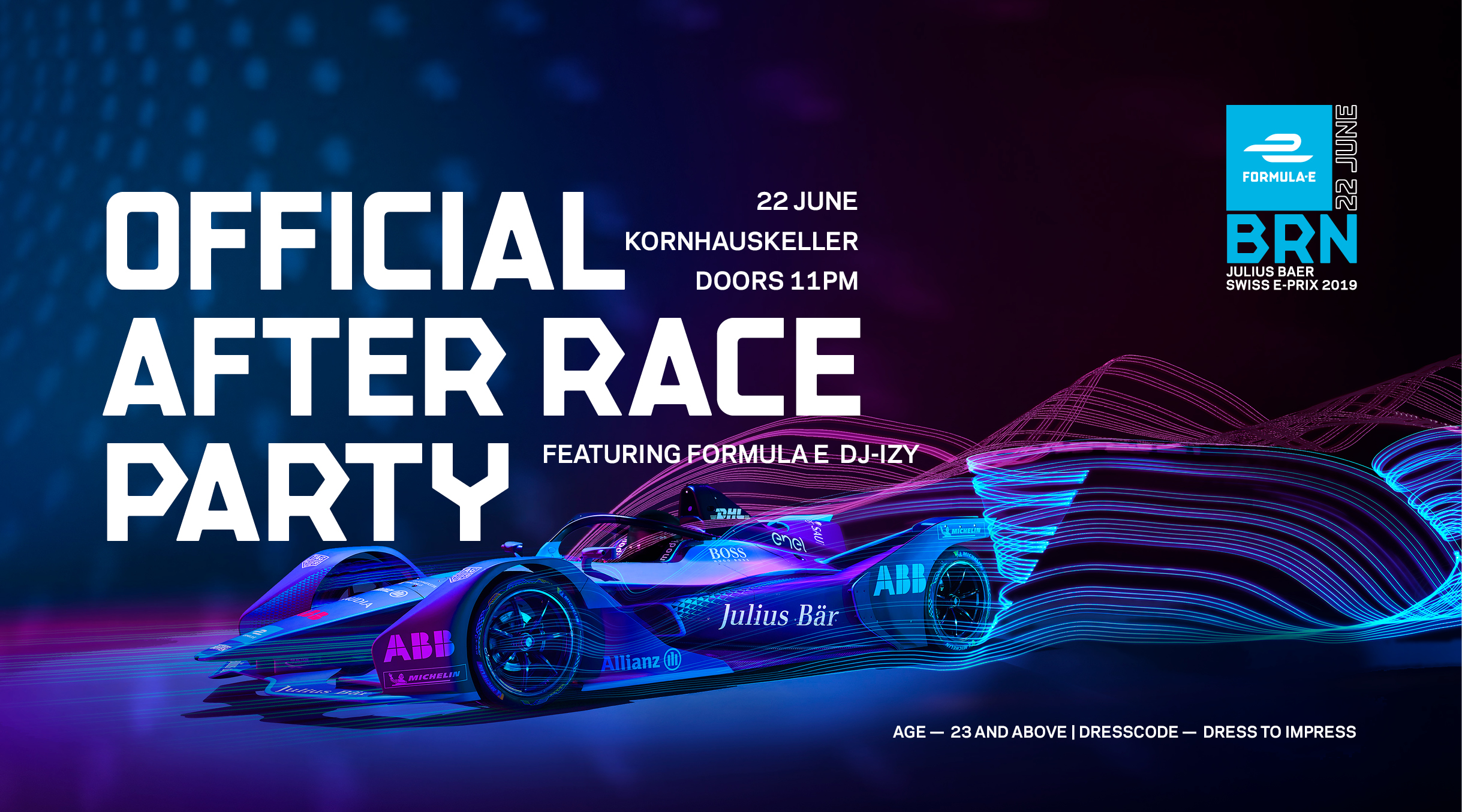 Official Julius Baer Swiss E-Prix After Race Party