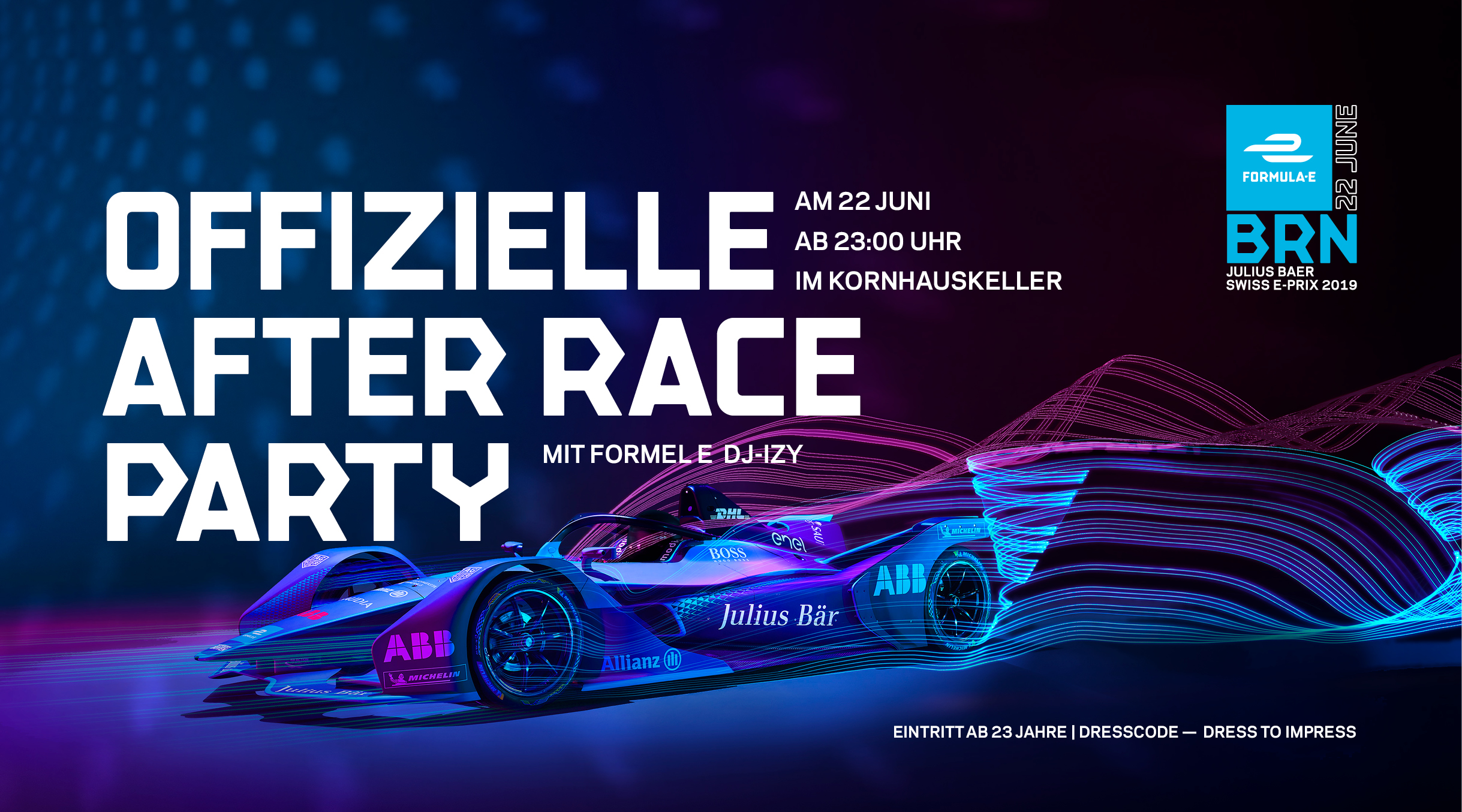 Offizielle Julius Bär Swiss E-Prix After Race Party