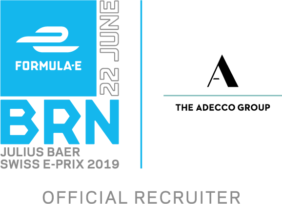 Adecco Group Swiss E-Prix Partner Logo